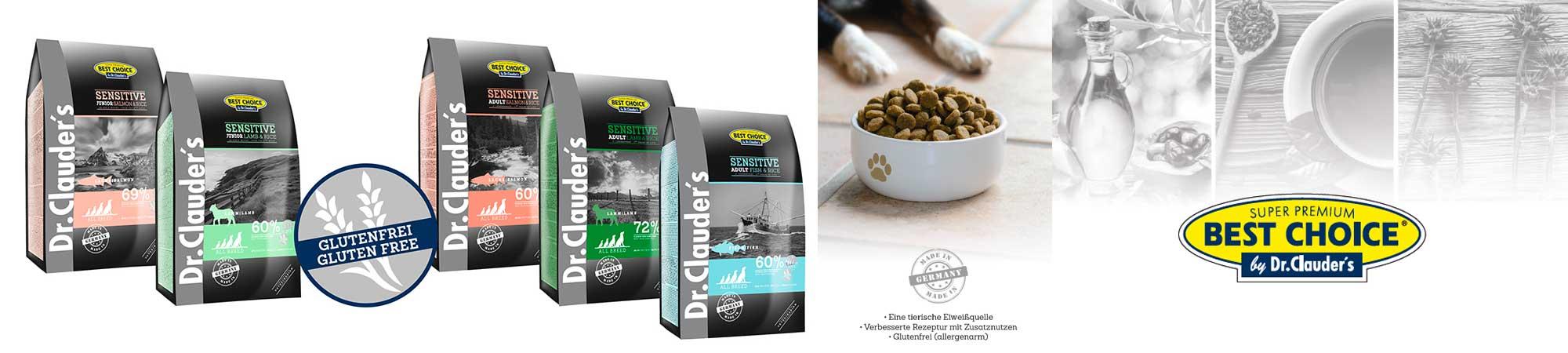 Best Choice Hundefutter von Dr. Clauder's günstig online bestellen