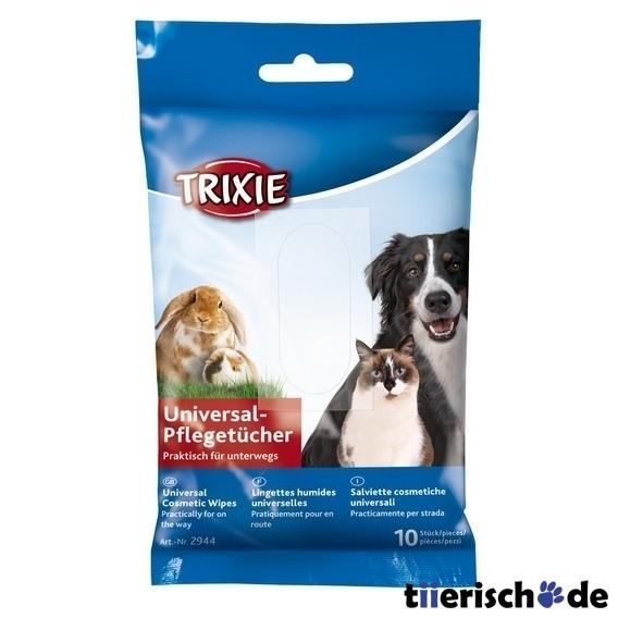 Trixie 10 Pflegetücher für Hunde und Katzen für Unterwegs 2944