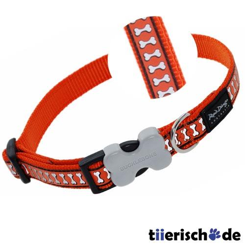 Red Dingo Halsband Reflective Bones, Bild 3