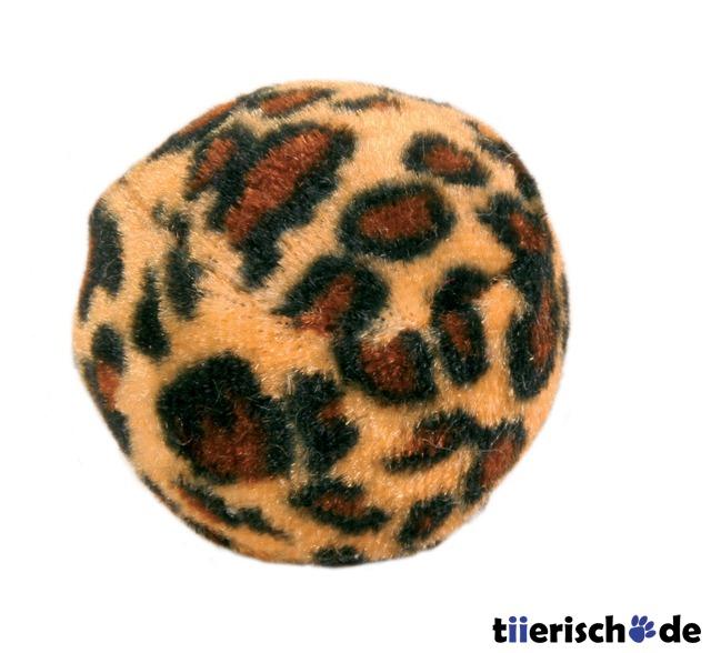 4 Katzen Spielbälle Leopardenmuster, Bild 2