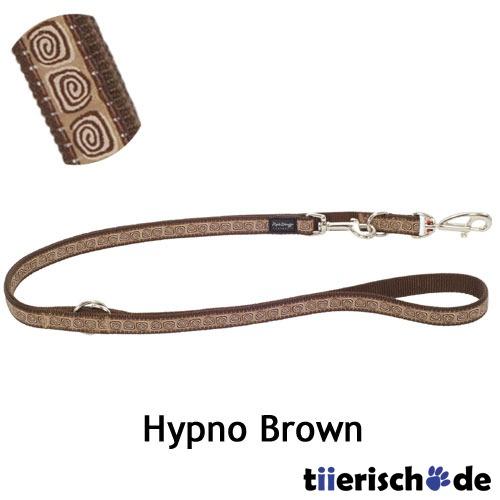 Red Dingo Leine Hypno Brown