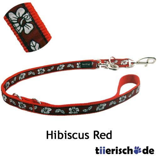 Red Dingo Leine Hibiscus