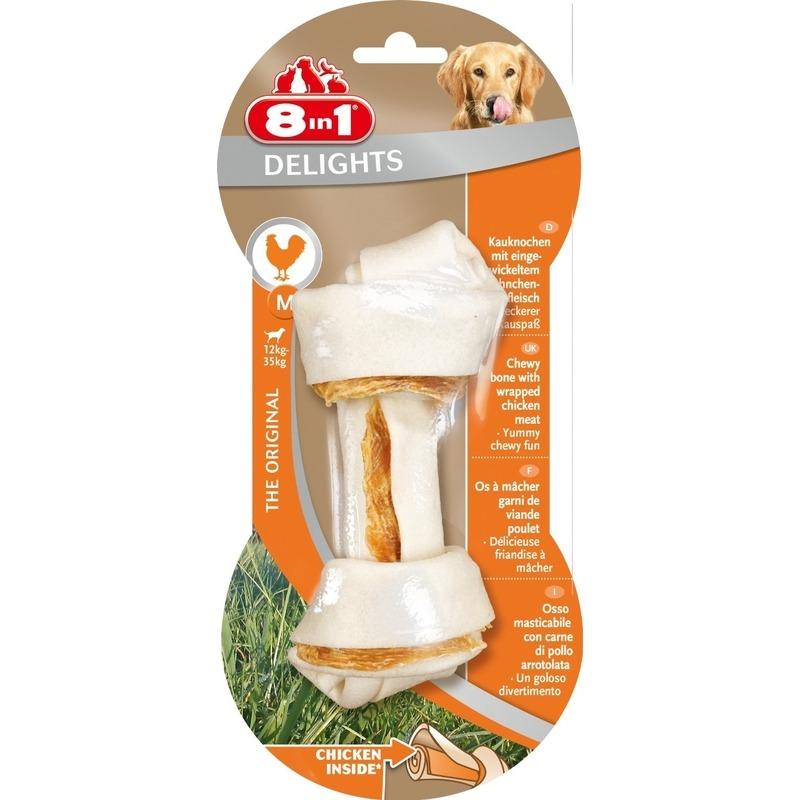 8in1 Delights Kauknochen für Hunde, Bild 2