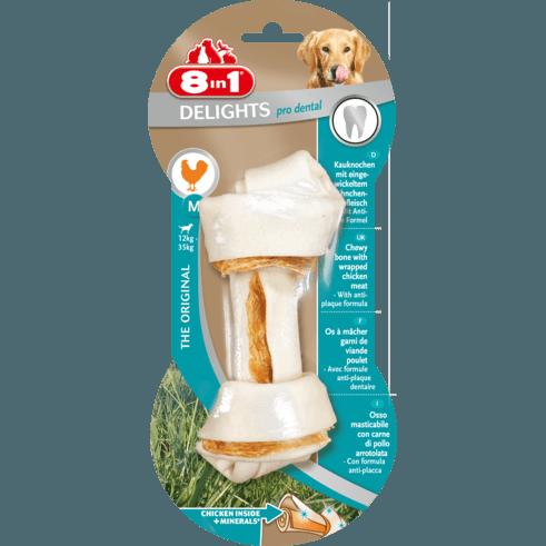 8in1 Delights Pro Dental Zahnpflege Kauknochen für Hunde, Bild 2