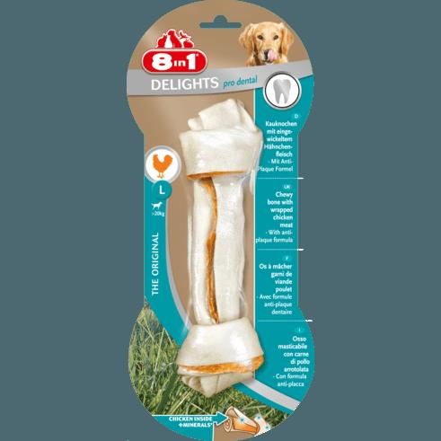 8in1 Delights Pro Dental Zahnpflege Kauknochen für Hunde, Bild 3