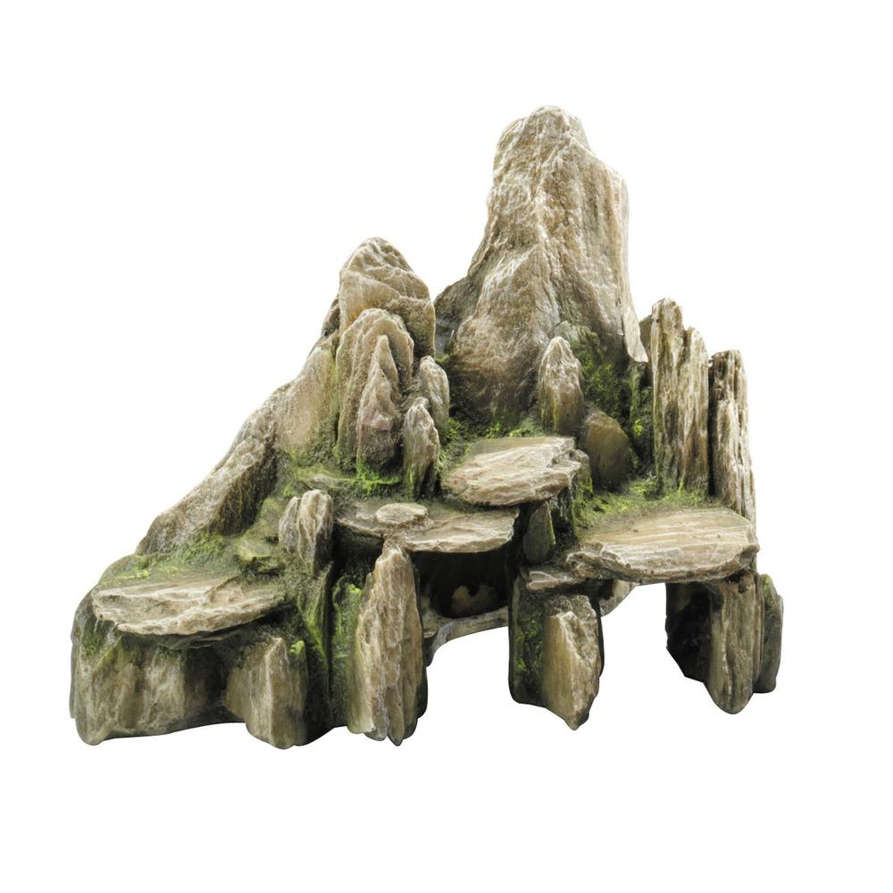 Aqua della stone slate aquarium deko von aqua della g nstig bestellen - Holz deko aquarium ...