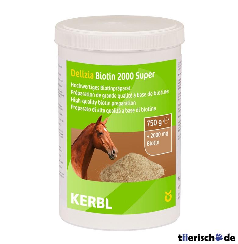 Kerbl Biotin 2000 Super Ergänzungsfuttermittel für Pferde