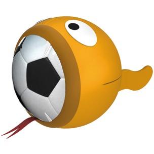 Flamingo Booga Ball Hunde Fussball mit Neopren Hülle, Bild 6
