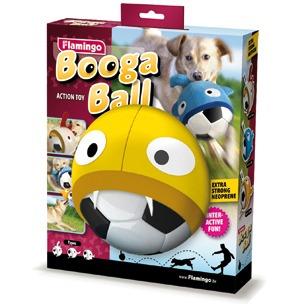 Flamingo Booga Ball Hunde Fussball mit Neopren Hülle, Bild 7