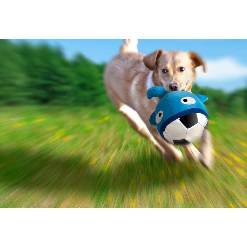 Flamingo Booga Ball Hunde Fussball mit Neopren Hülle, Bild 8