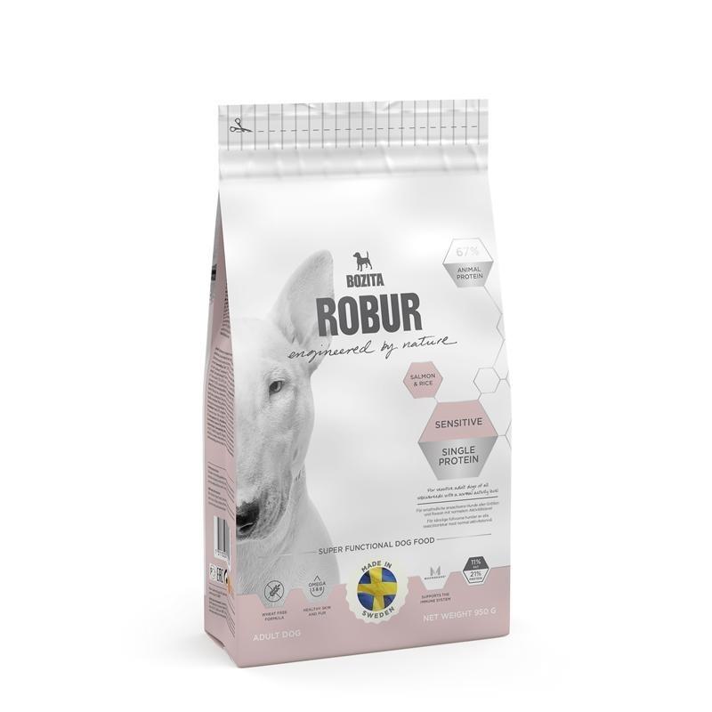 bozita robur sensitive single protein salmon rice. Black Bedroom Furniture Sets. Home Design Ideas