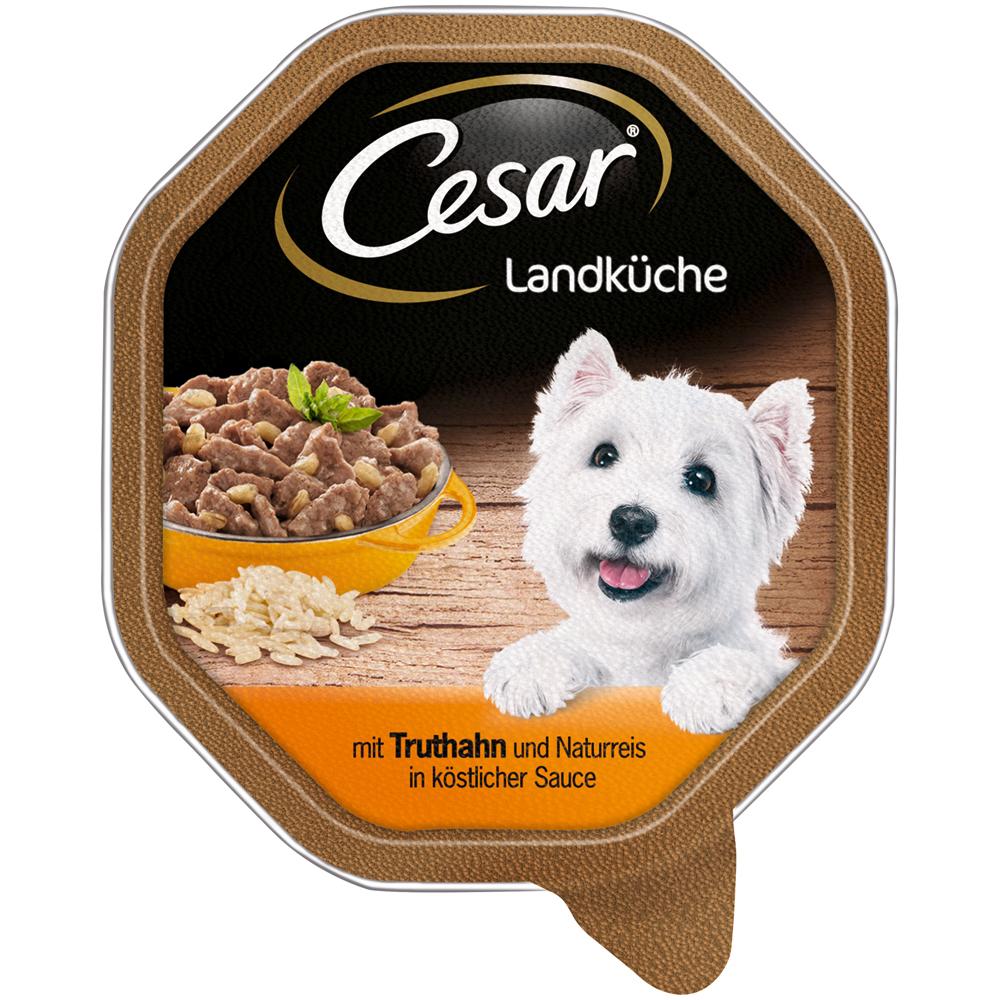 Cesar Landküche Mini-Filets in Sauce Hundefutter von Cesar günstig ...