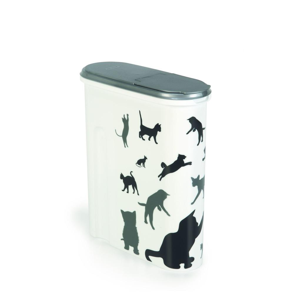 Curver Futterdose Futterbehälter Silhouette Katze, Bild 5