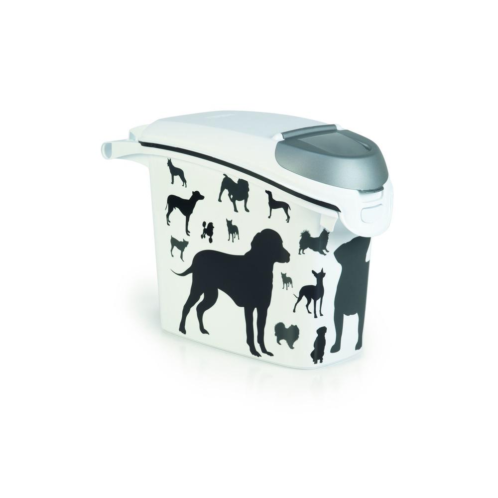Curver Futtertonne Futterbehälter Silhouette Hunde, Bild 2