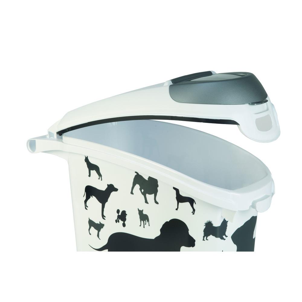 Curver Futtertonne Futterbehälter Silhouette Hunde, Bild 3