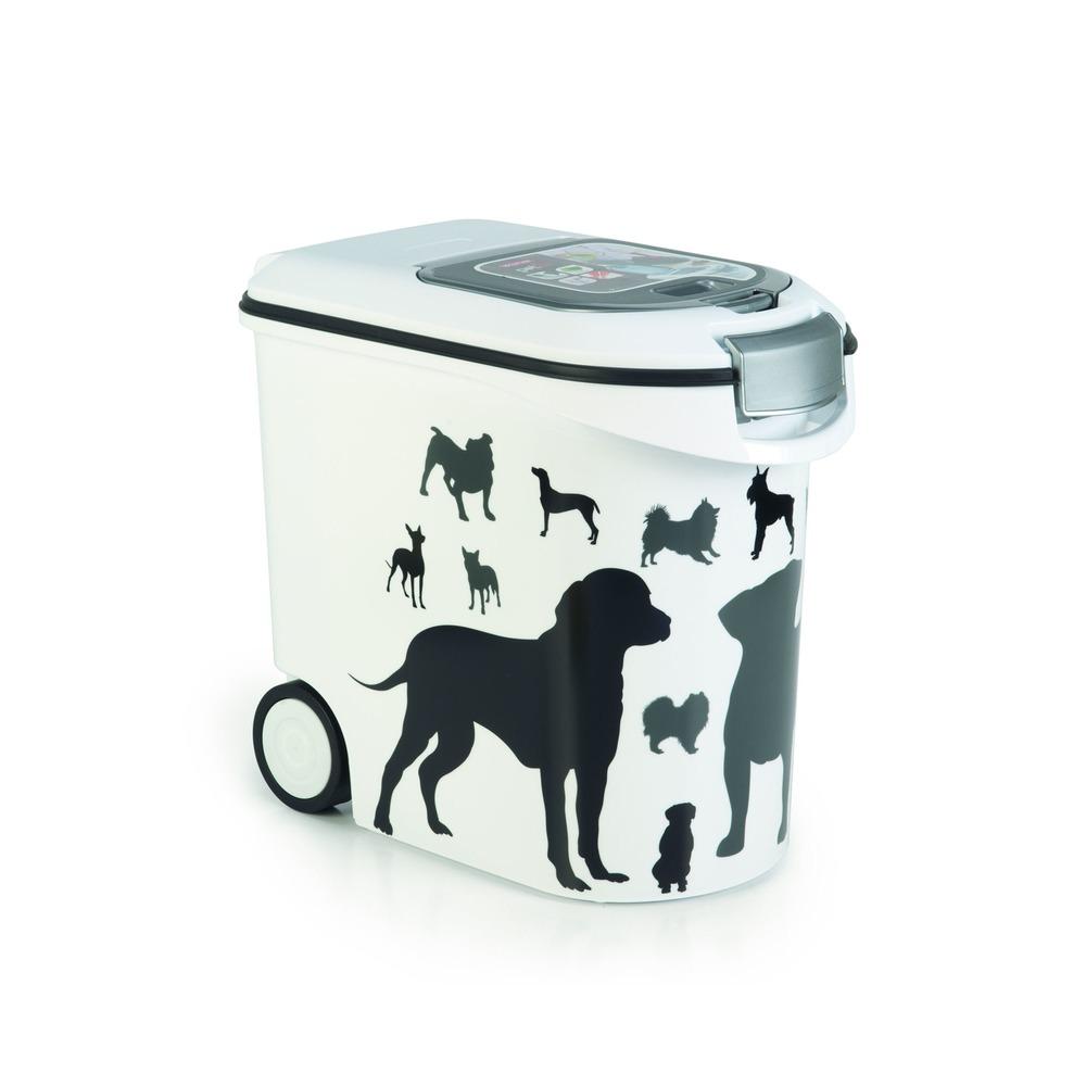 Curver Futtertonne Futterbehälter Silhouette Hunde, Bild 7