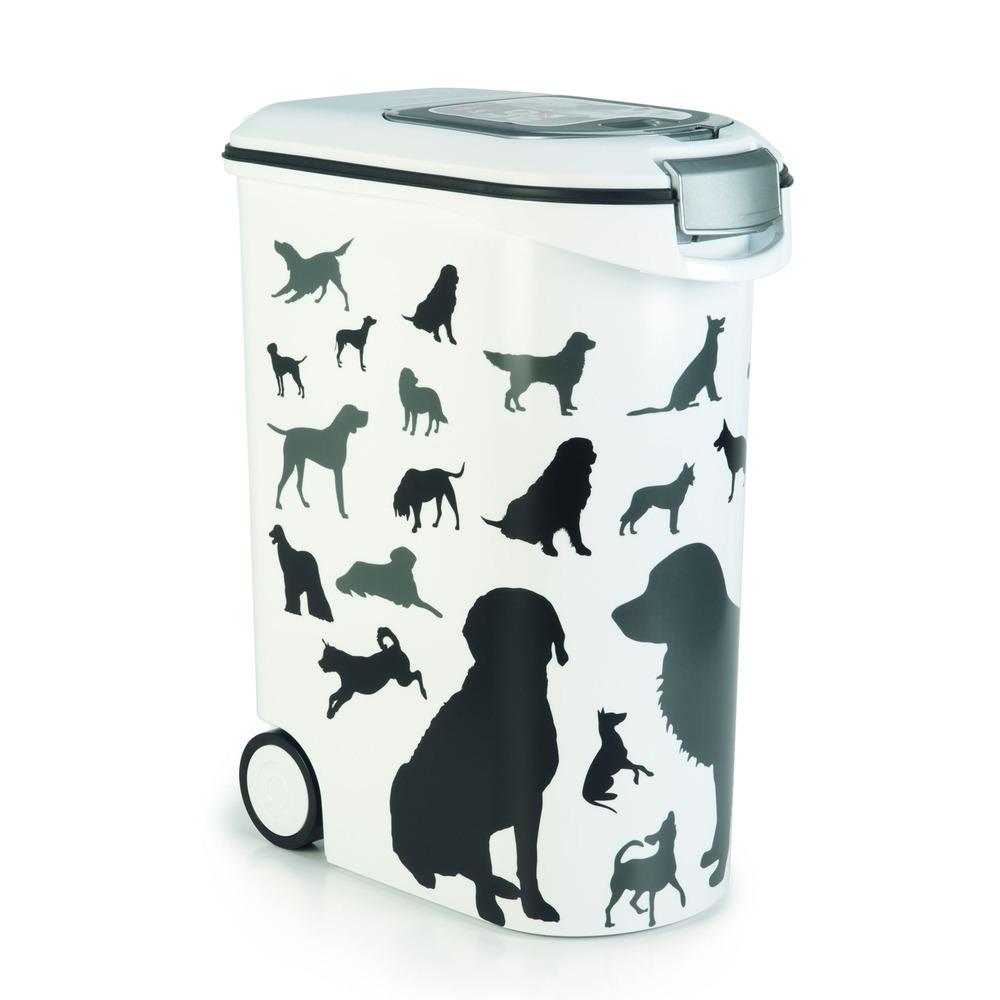 Curver Futtertonne Futterbehälter Silhouette Hunde, Bild 6