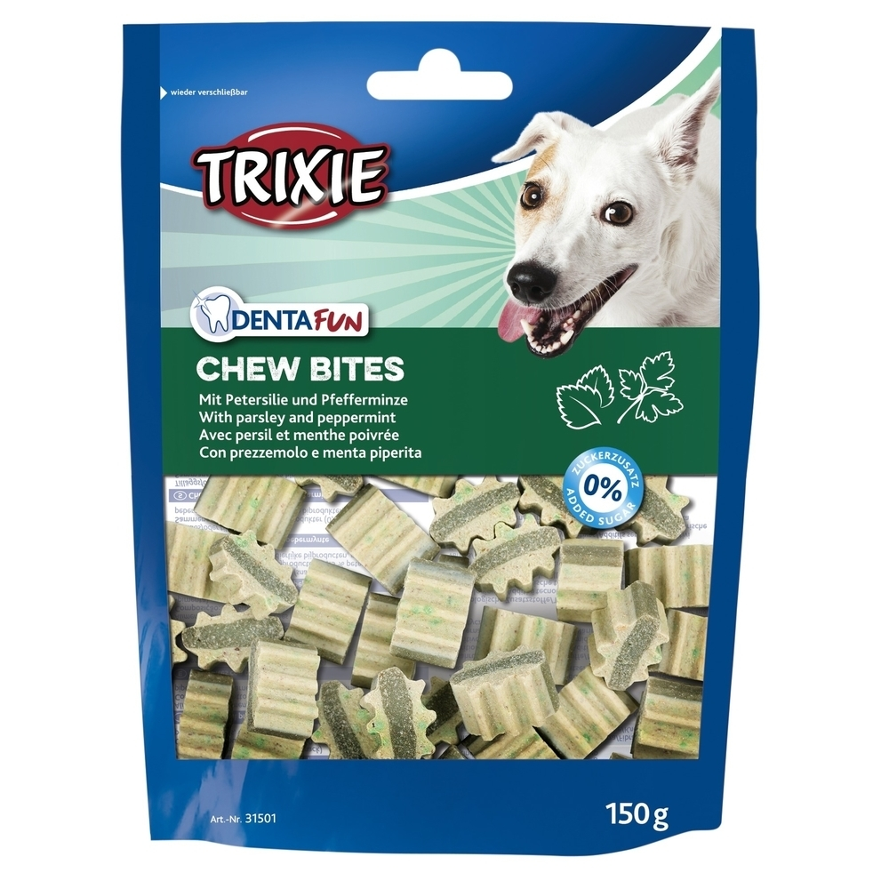 Trixie Denta Fun Chew Bites Zahnpflege Hundesnacks 31501
