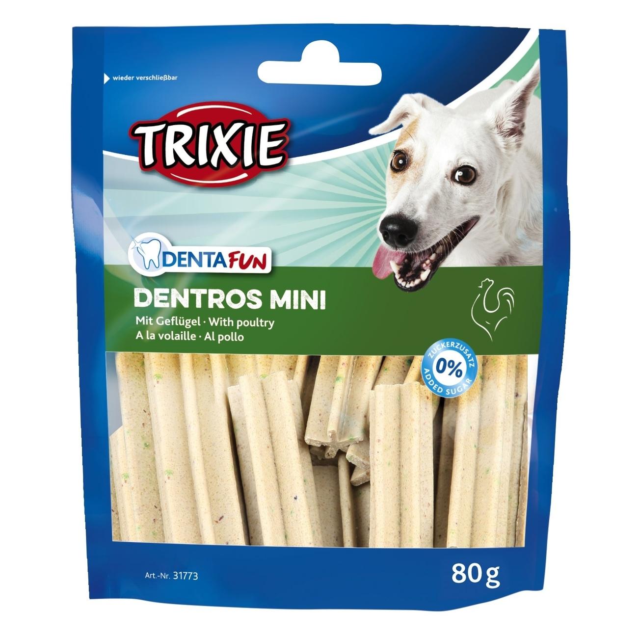 Trixie Dentros Mini Zahnpflege Kaustangen 31773