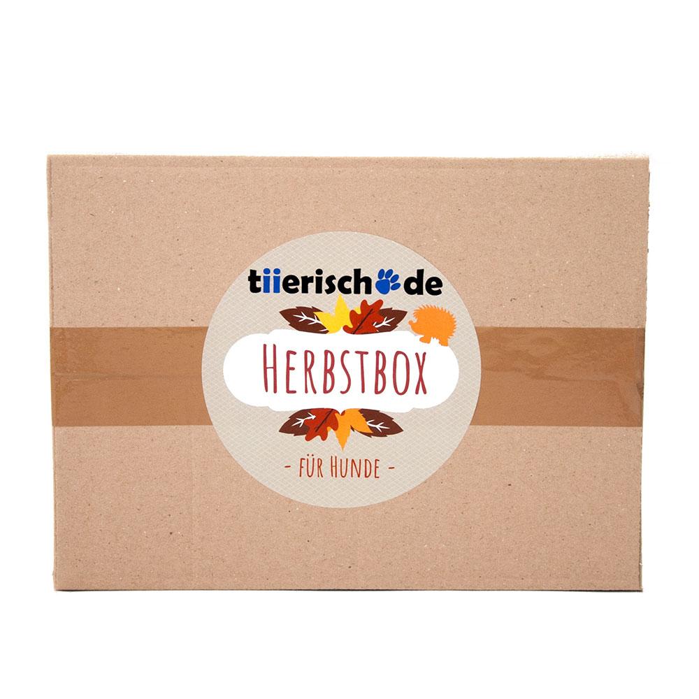 tiierisch.de Die Herbstbox für Hunde