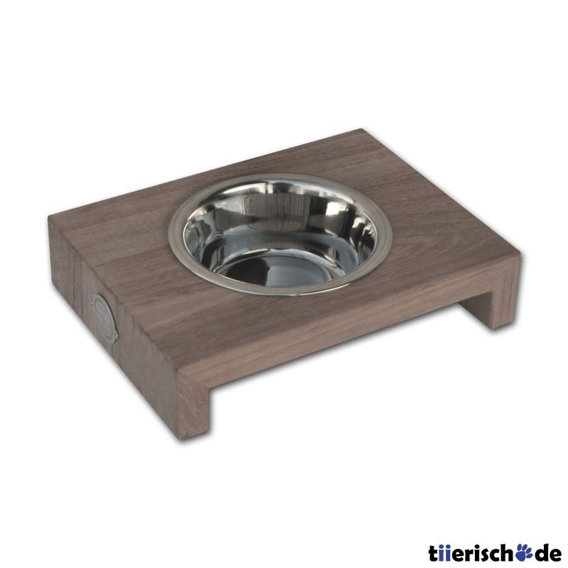 Dinnerbowl Teak Holz Einzelnapf