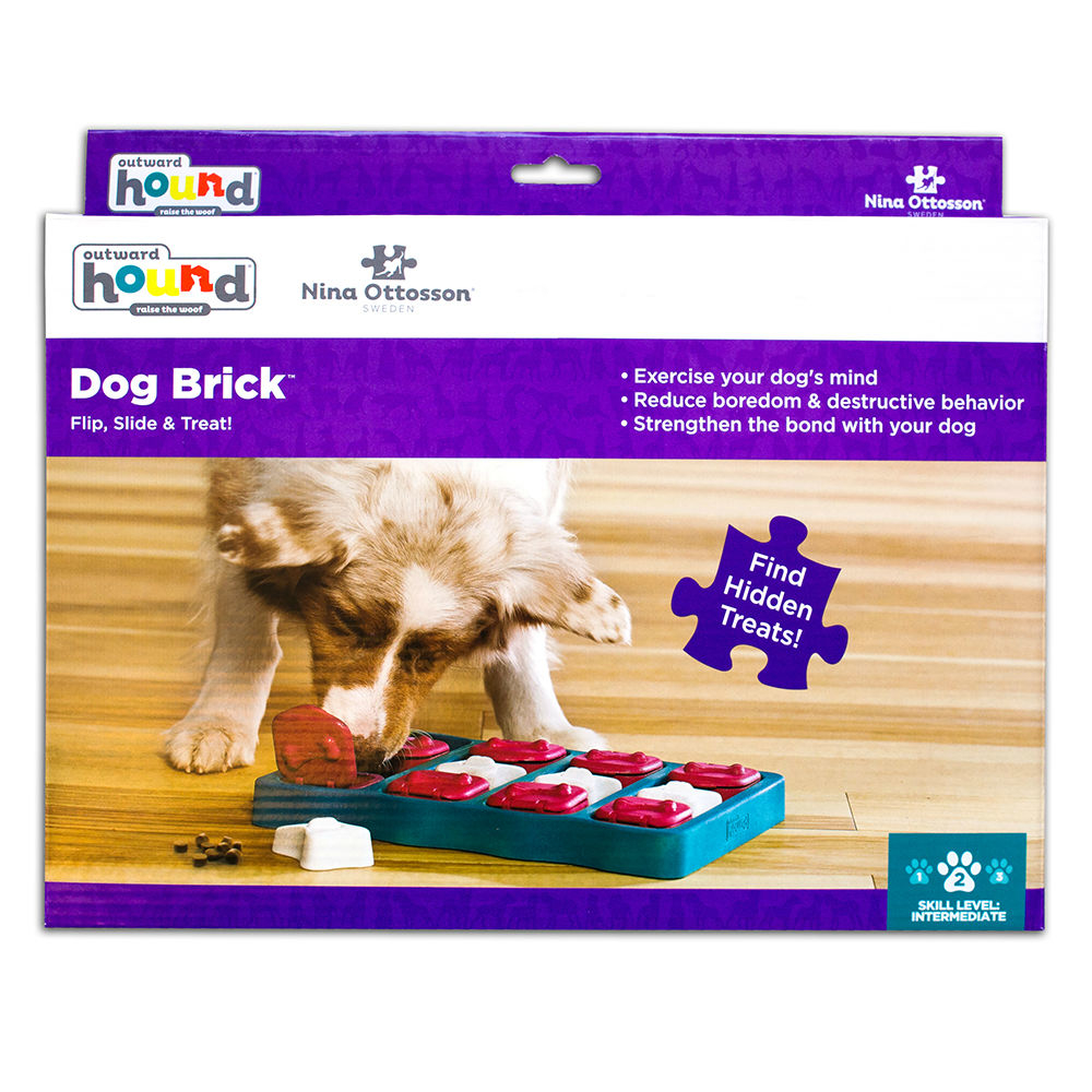 Nina Ottosson Dog Brick Plastik, Bild 4