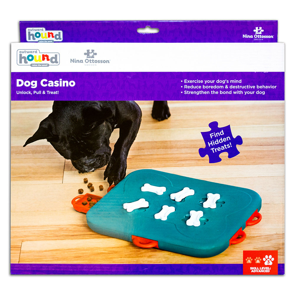 Nina Ottosson Dog Casino Hundespielzeug Plastik, Bild 4