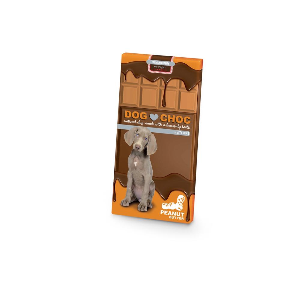 Dog Choc Erdnussbutter Hunde Schokolade