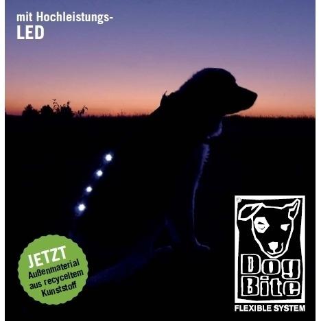 DogBite Hunde Leucht-Winterjacke mit LED, Bild 2