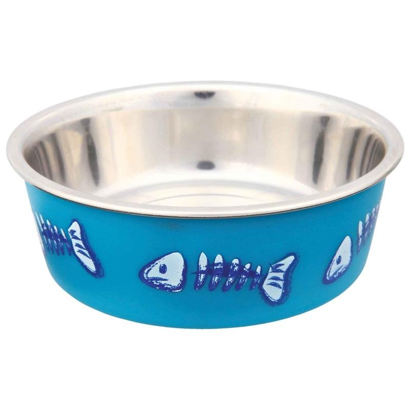 Trixie Edelstahlnapf für Katzen mit Kunststoffmantel 25270, Bild 3