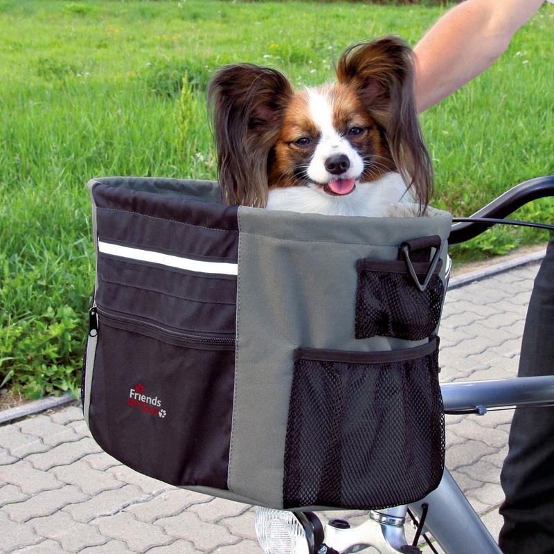 Fahrradtasche für kleine Hunde