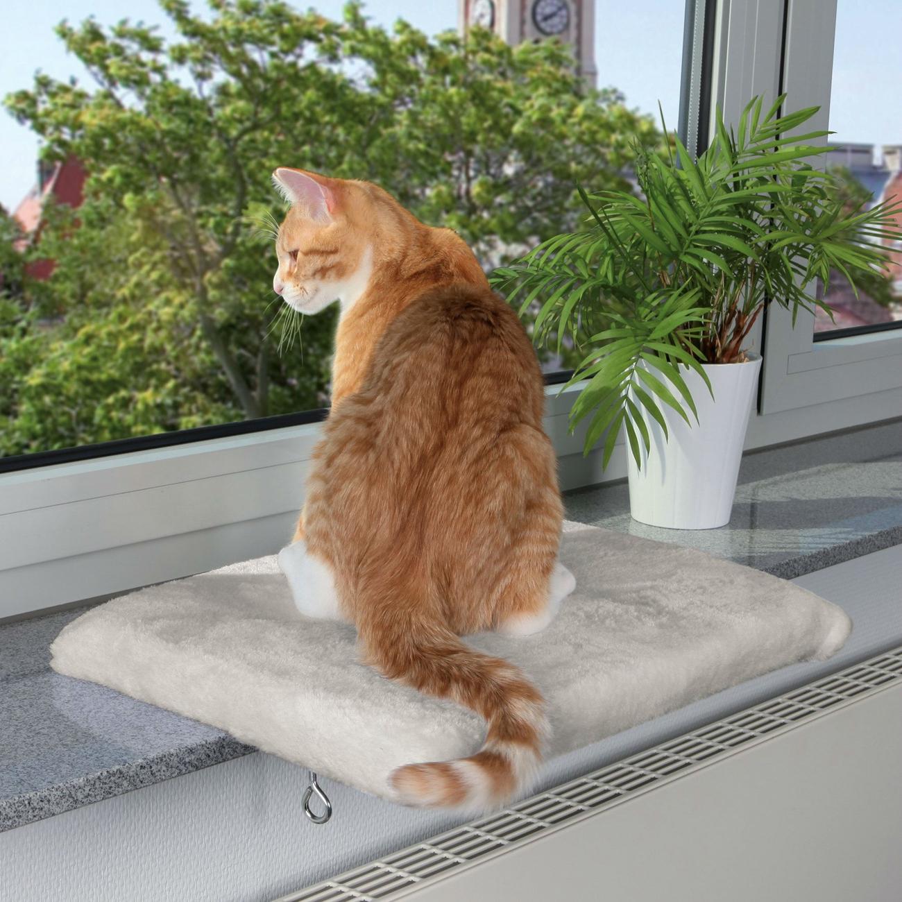 Trixie Fensterbank Sitzbrett für Katzen CosyPlace 4328