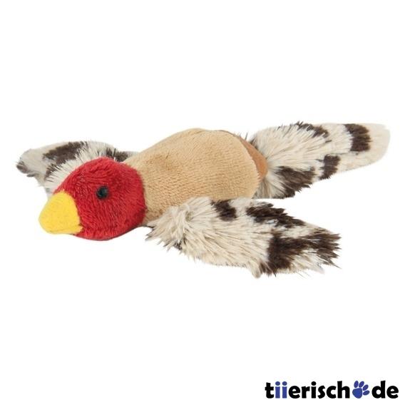 Fliegender vogel katzenspielzeug aus plüsch von trixie