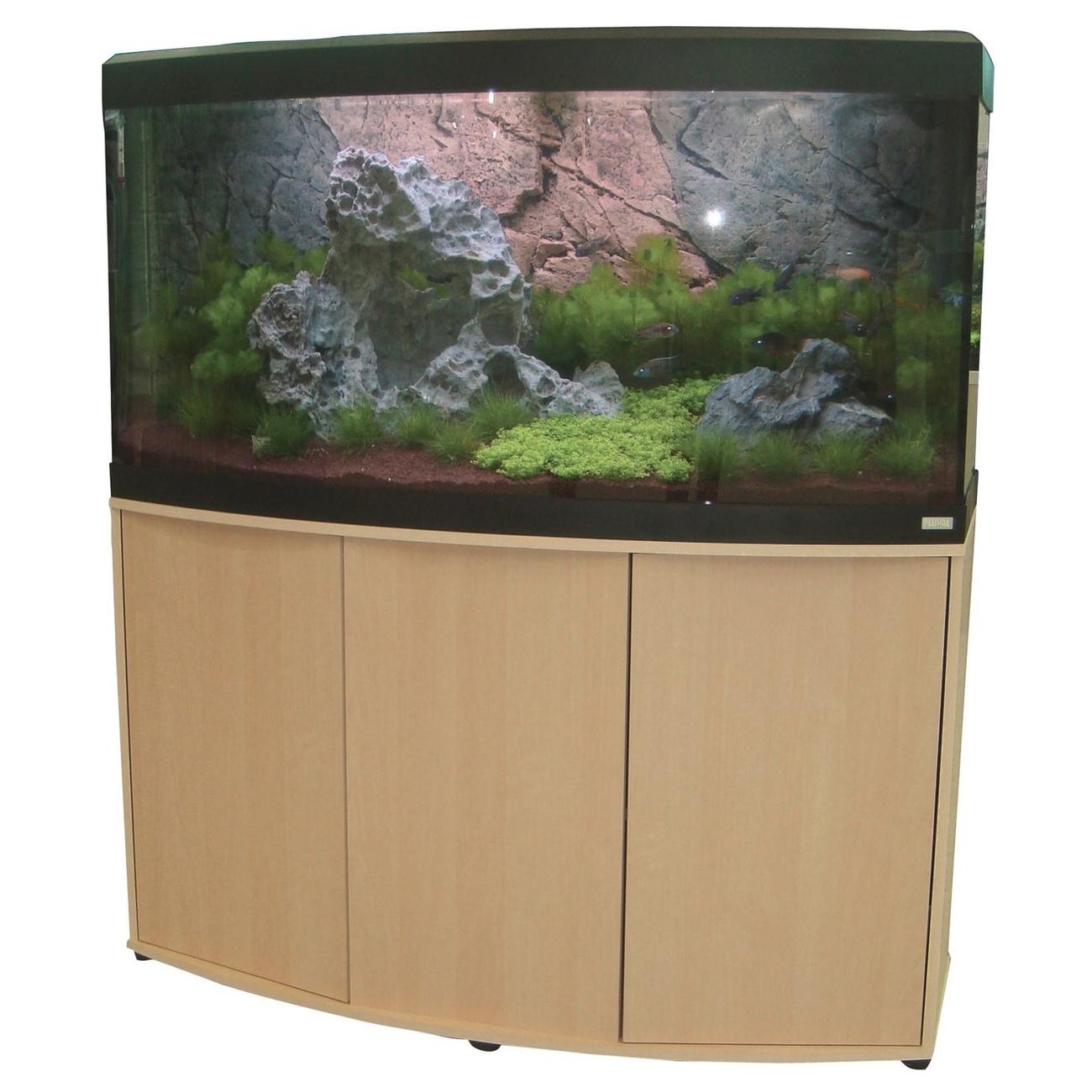fluval s wasser aquarium mit schrank vicenza von fluval. Black Bedroom Furniture Sets. Home Design Ideas
