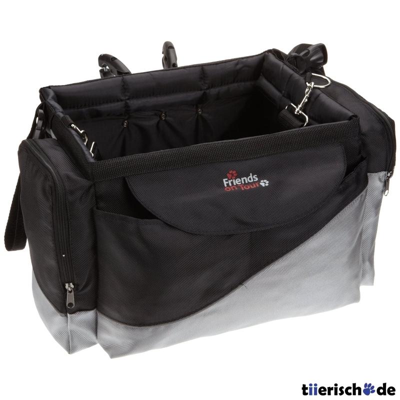 trixie front box fahrradtasche f r hunde 13113 von trixie g nstig bestellen. Black Bedroom Furniture Sets. Home Design Ideas