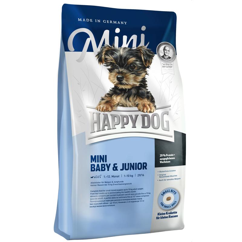 happy dog supreme mini baby junior von happy dog g nstig. Black Bedroom Furniture Sets. Home Design Ideas