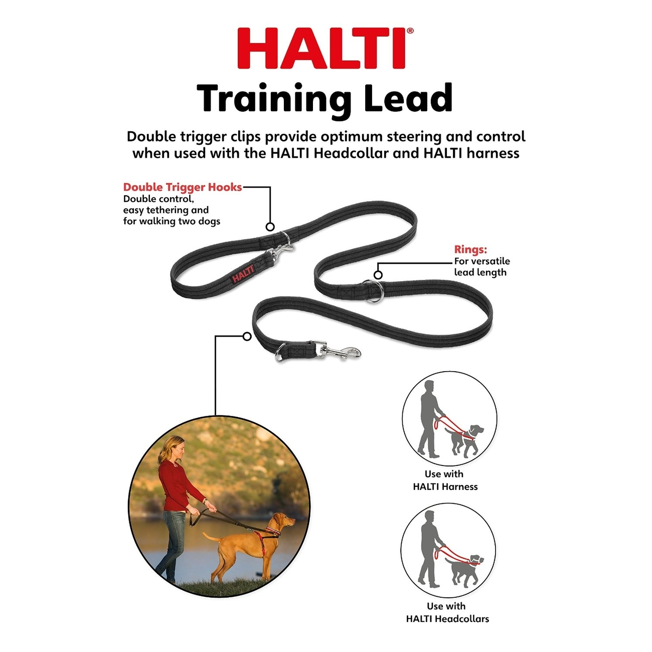 Company of Animals Halti Leine Training Lead, Bild 2