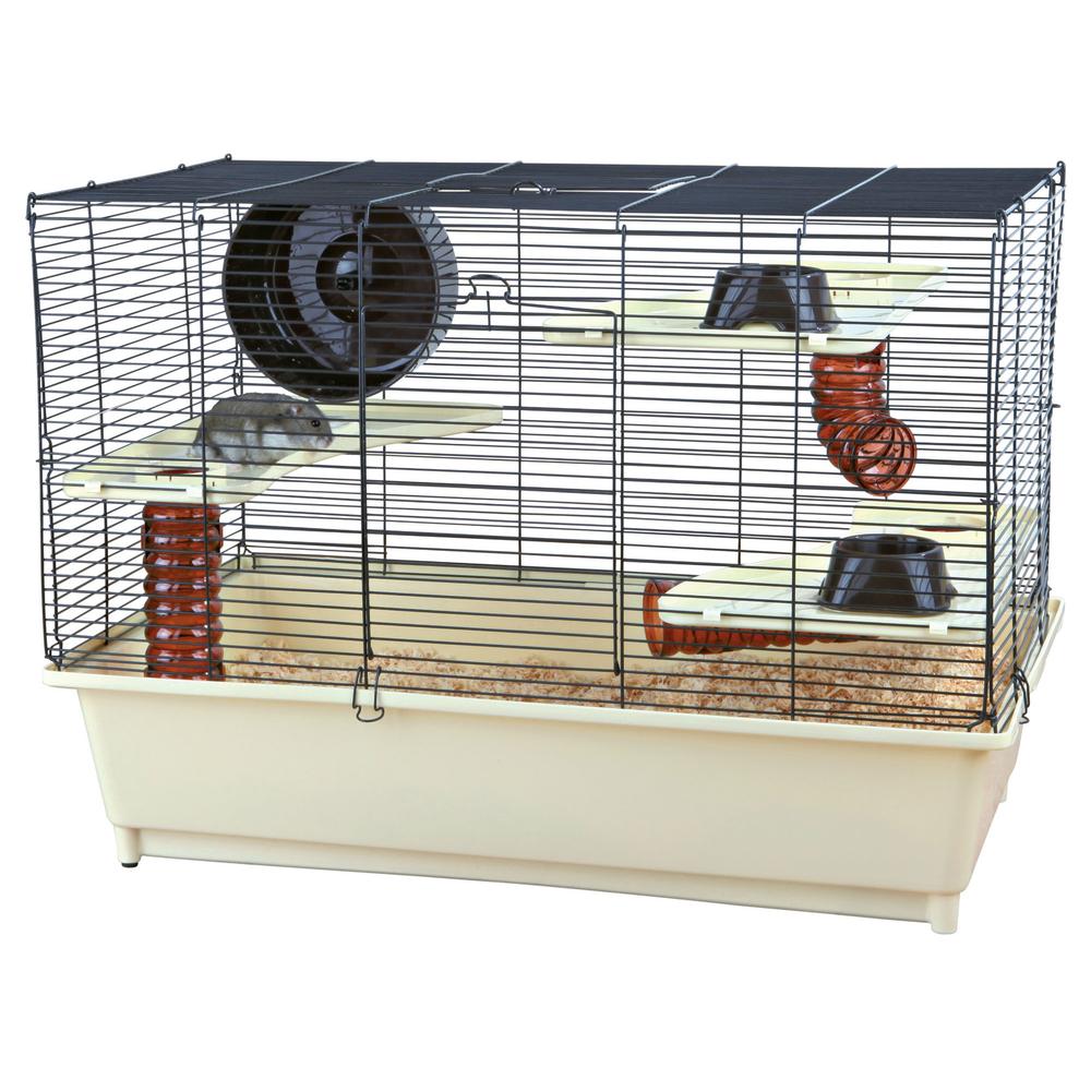 hamsterkäfig voll ausgestattet 64011 von trixie günstig bestellen