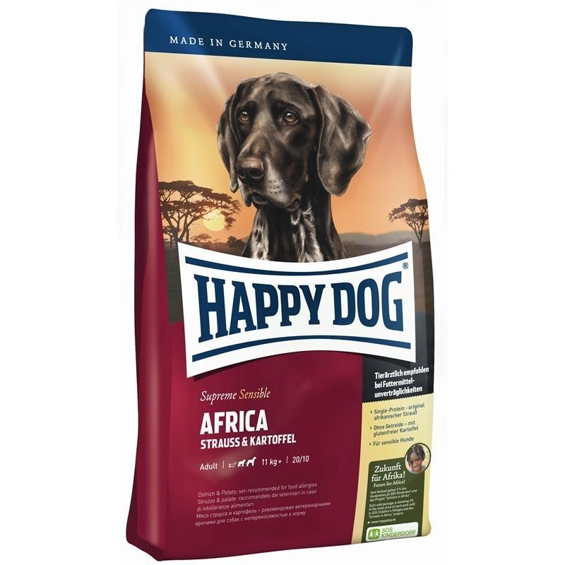 Happy Dog Supreme Africa Hundefutter, 12,5kg
