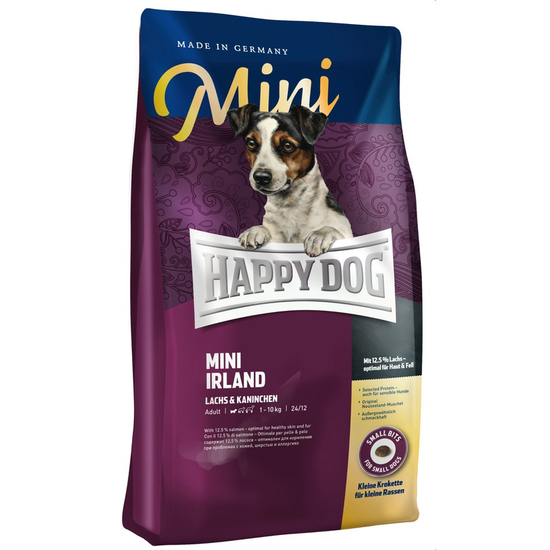 happy dog supreme mini irland hundefutter von happy dog. Black Bedroom Furniture Sets. Home Design Ideas