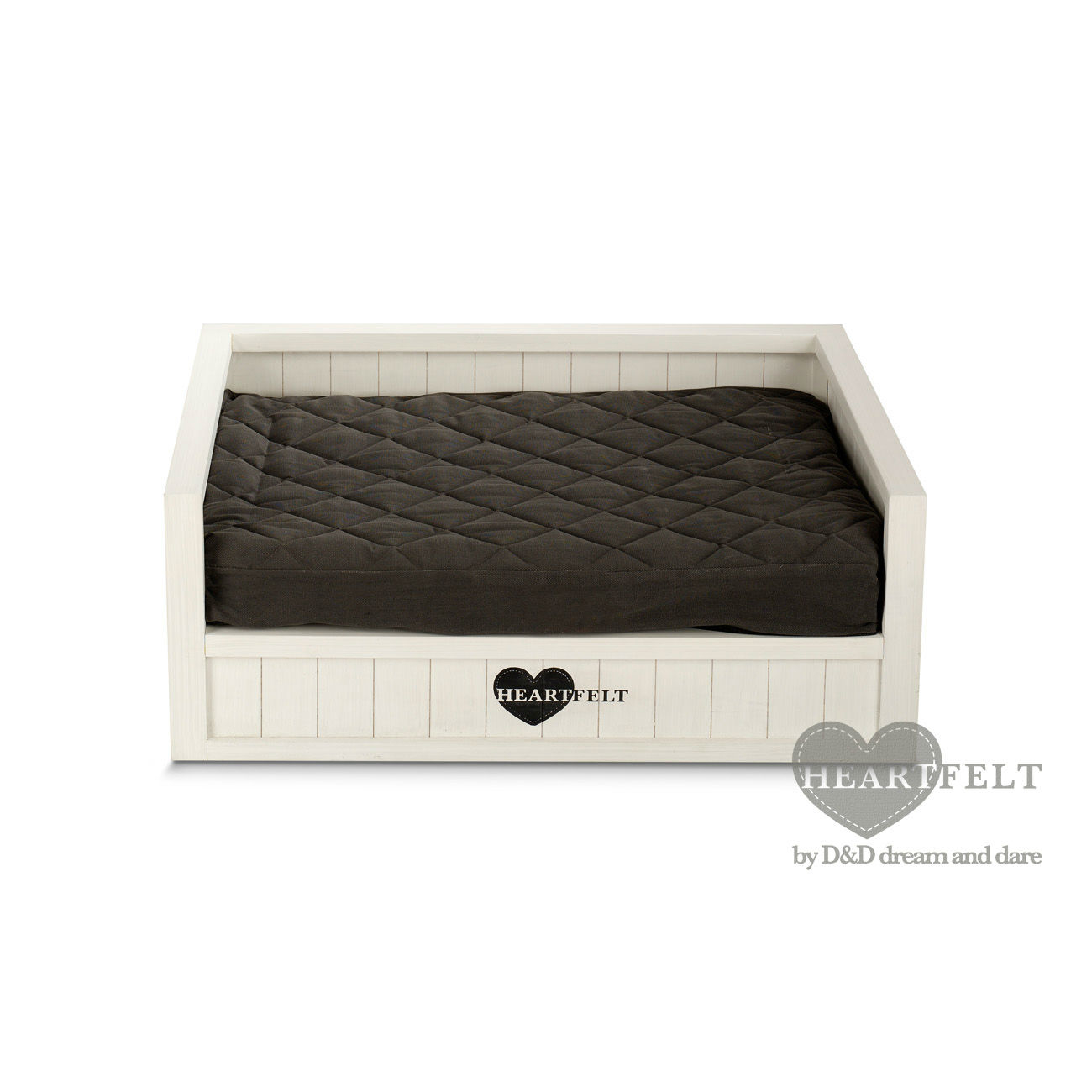 heartfelt villanova hundebett aus holz wei von europet bernina g nstig bestellen. Black Bedroom Furniture Sets. Home Design Ideas