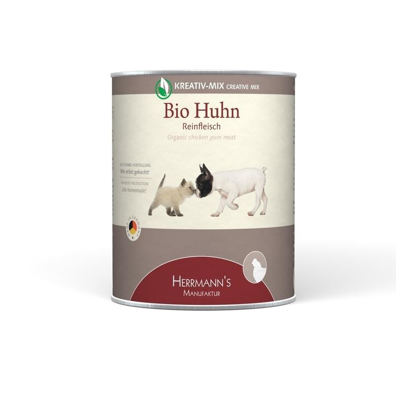 herrmanns bio hundefutter reinfleisch dose von herrmanns g nstig bestellen. Black Bedroom Furniture Sets. Home Design Ideas