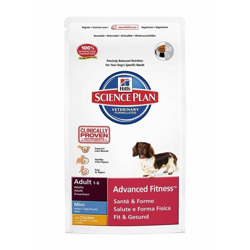 hills canine adult advanced fitness mini huhn hundefutter von hills g nstig bestellen. Black Bedroom Furniture Sets. Home Design Ideas