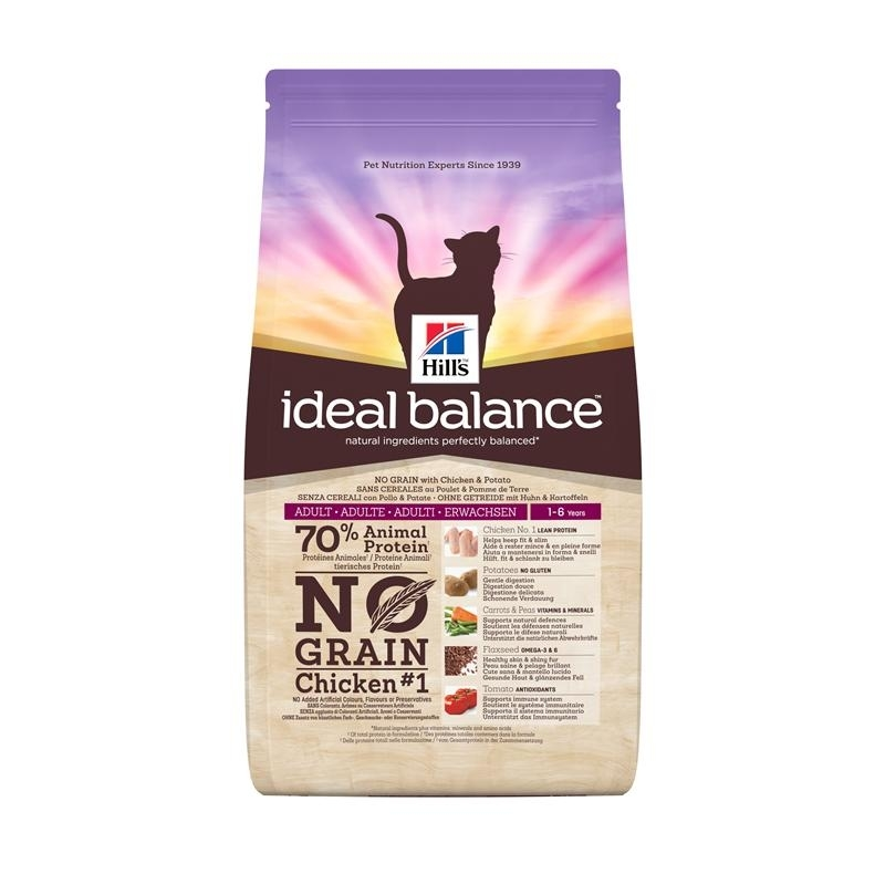 Hills Feline Ideal Balance No Grain Huhn & Kartoffel, Bild 2