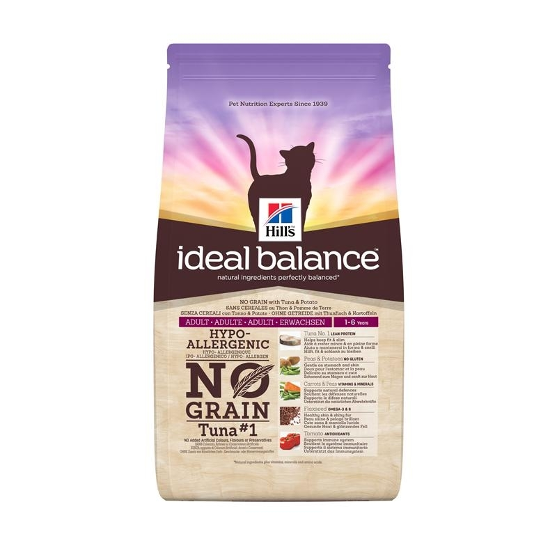Hills Feline Ideal Balance No Grain Thunfisch, Bild 2