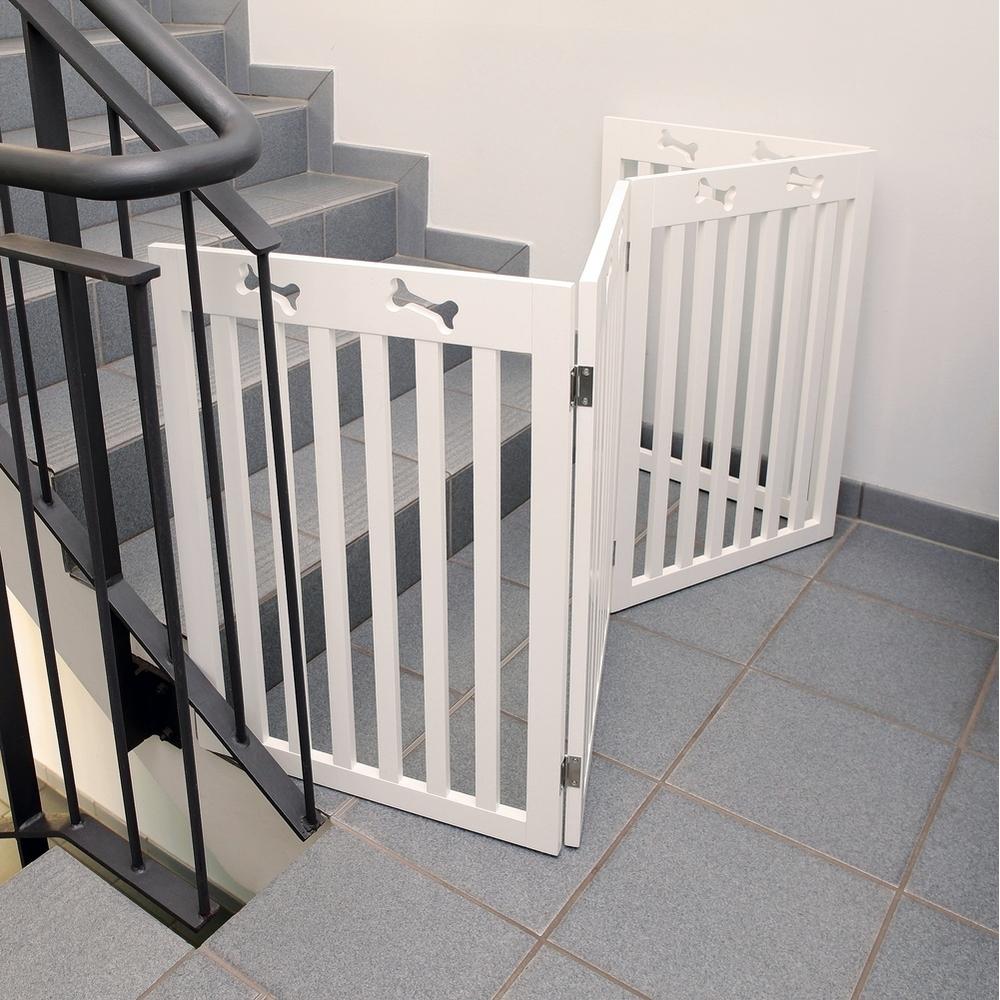 hundeabsperrung xl f r t r treppe 39457 von trixie g nstig bestellen. Black Bedroom Furniture Sets. Home Design Ideas
