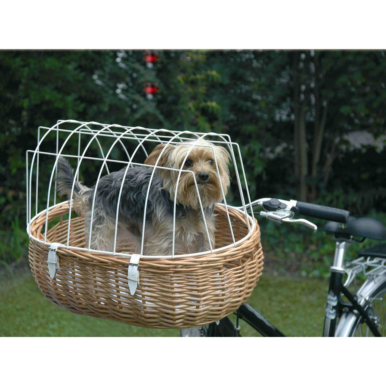 Aumüller Hundefahrradkorb Steuerkopfmontage vorne von Aumüller, Bild 6