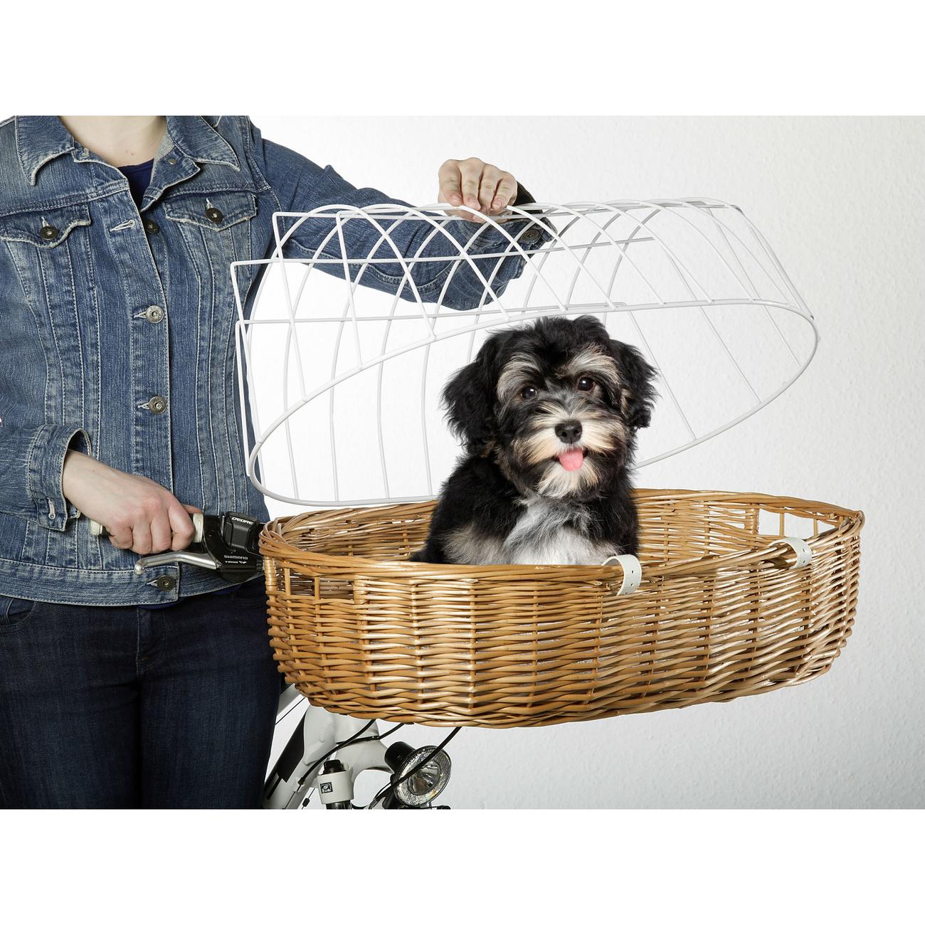 Aumüller Hundefahrradkorb Steuerkopfmontage vorne von Aumüller, Bild 9