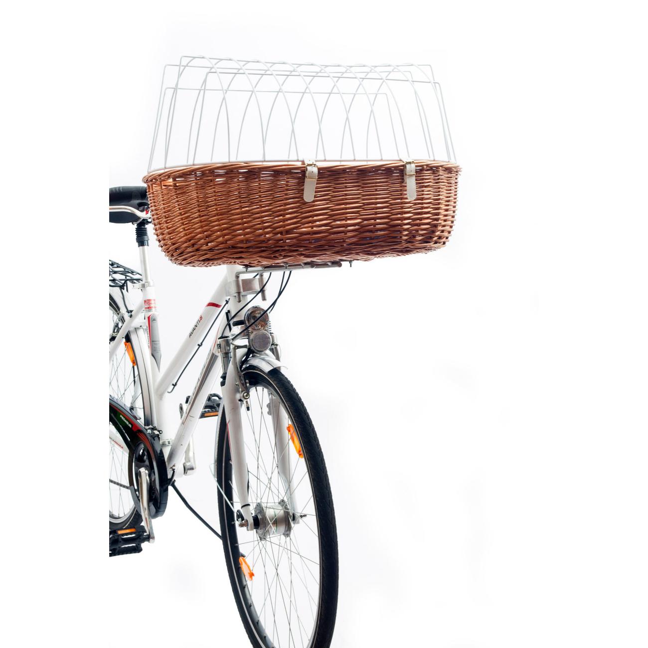 Aumüller Hundefahrradkorb Steuerkopfmontage vorne von Aumüller
