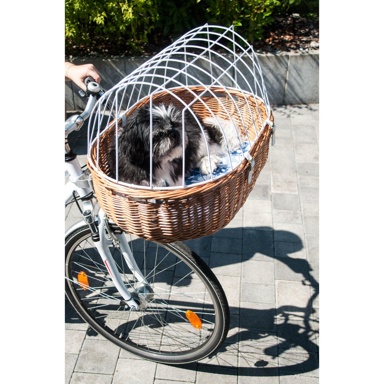 Aumüller Hundefahrradkorb Steuerkopfmontage vorne von Aumüller, Bild 5